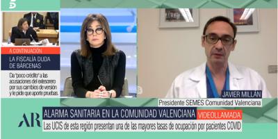 Javier Millán, urgenciólogo:  «El ministro Illa anunció la creación de la Especialidad de Urgencias, que existe en todo Europa excepto España y Portugal»