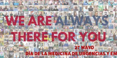 27 de mayo                             DÍA DE LA MEDICINA DE URGENCIAS Y EMERGENCIAS